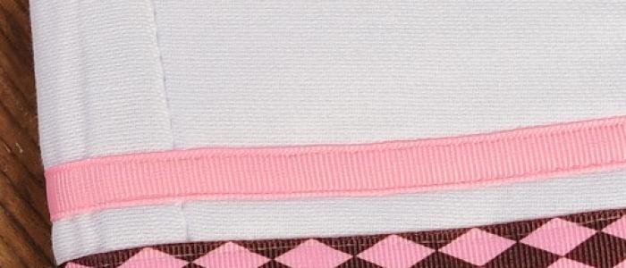 Chocolate Pink Argyle / Pink
