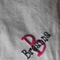 Hote Pink/Black Thread