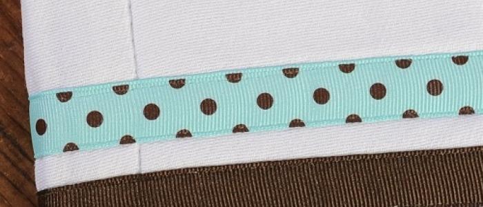 Chocolate / Seafoam Chocolate Dot