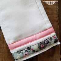116- Pink/Grey Floral