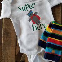 Super hero - primary w thin stripes