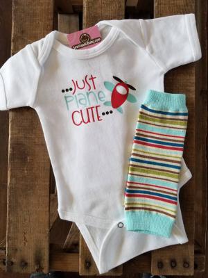 Just plane cute - toy box stripe