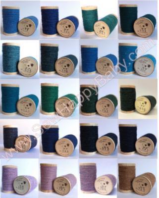 Moire 100% Wool Thread