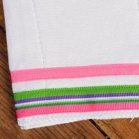 Bubblegum Lime Stripe / Bubblegum Pink