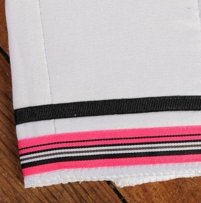 Hot Pink Black Stripe / Black