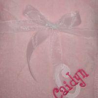 White/Hot Pink Thread