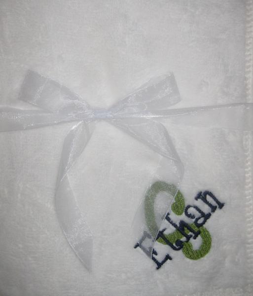 Tahoe Microfleece Baby Blanket Sew Happy Baby